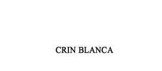 Crin Blanca